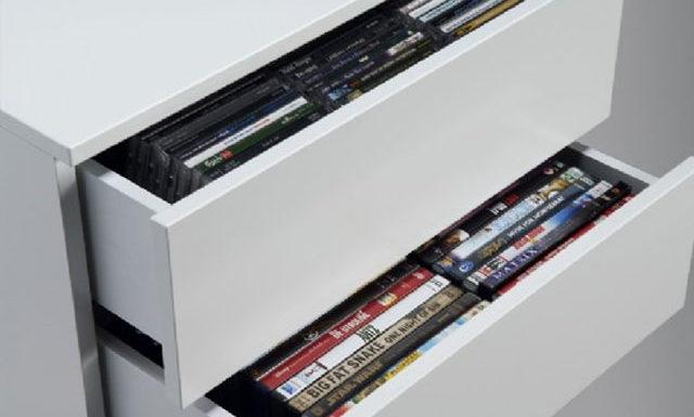 dvd opbevaring